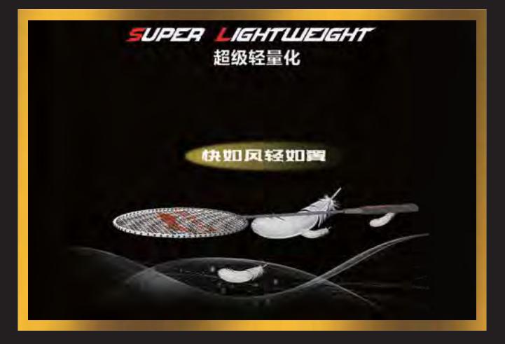 Super Lightweight - Vợt cầu lông Lining Aeronaut 9000i - Nội địa