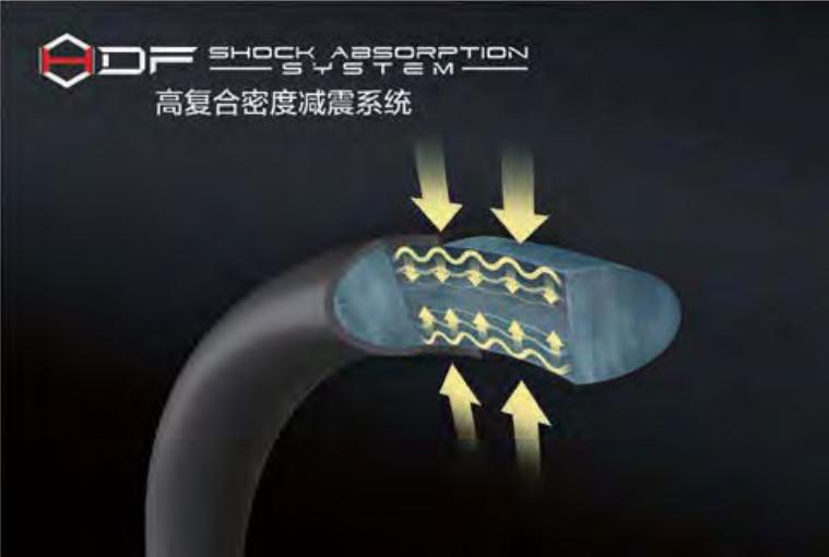 SHOCK ABSORPTION SYSTEM - Vợt cầu lông Lining Aeronaut 9000i - Nội địa