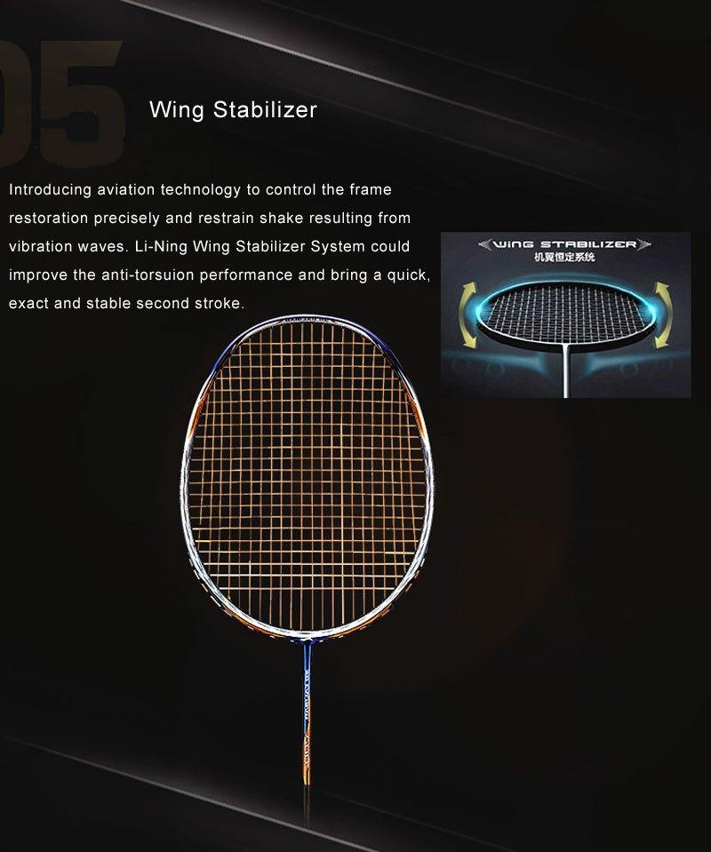 WING STABILIZER - Vợt cầu lông Lining Tectonic 7C chính hãng