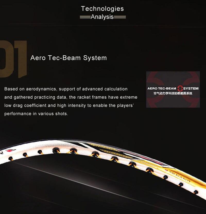 AEROTEC BEAM SYSTEM - Vợt cầu lông Lining Tectonic 7C chính hãng