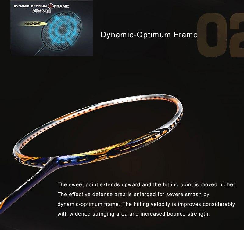 DYNAMIN-OPT-IMUM FRAME - Vợt cầu lông Lining Tectonic 7C chính hãng