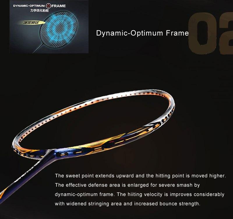 DYNAMIN-OPT-IMUM FRAME - Vợt cầu lông Lining Windstorm 74 Purple chính hãng