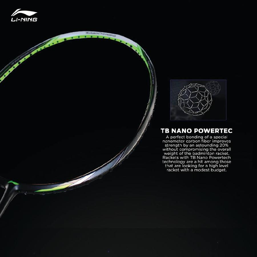 TB NANO POWERTEC - Vợt cầu lông Lining Windstorm 74 Purple chính hãng