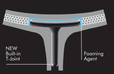 NEW BIULT-IN T-JOINT - Vợt cầu lông Yonex Arcsaber 71 Light chính hãng