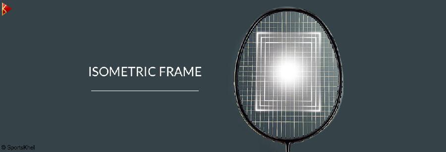Isometric Head Frame - Vợt cầu lông Apacs RAPIER 88