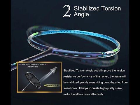 STABILIZED TORSSION ANGLE - Vợt cầu lông Lining Tectonic 7C chính hãng