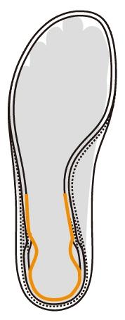 SYN CRO FIT INSOLE - Giày cầu lông Yonex Aerus 3 - Xanh