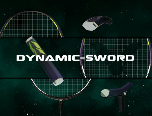 DYNAMIC-SWORD - Vợt cầu lông Victor ARS 90K