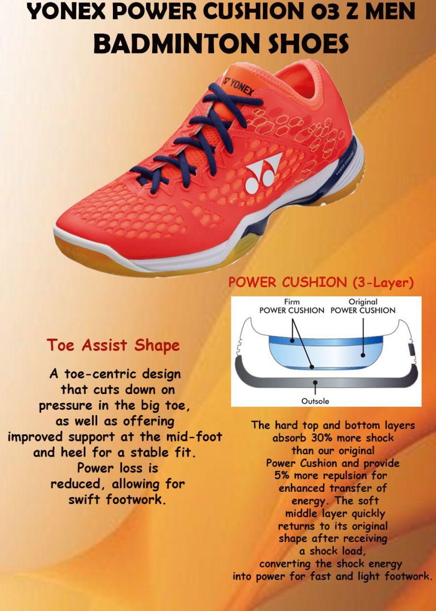 TOE ASSIST SHAFE - Giày cầu lông Yonex SHB Comfort Z2 Xanh hồng